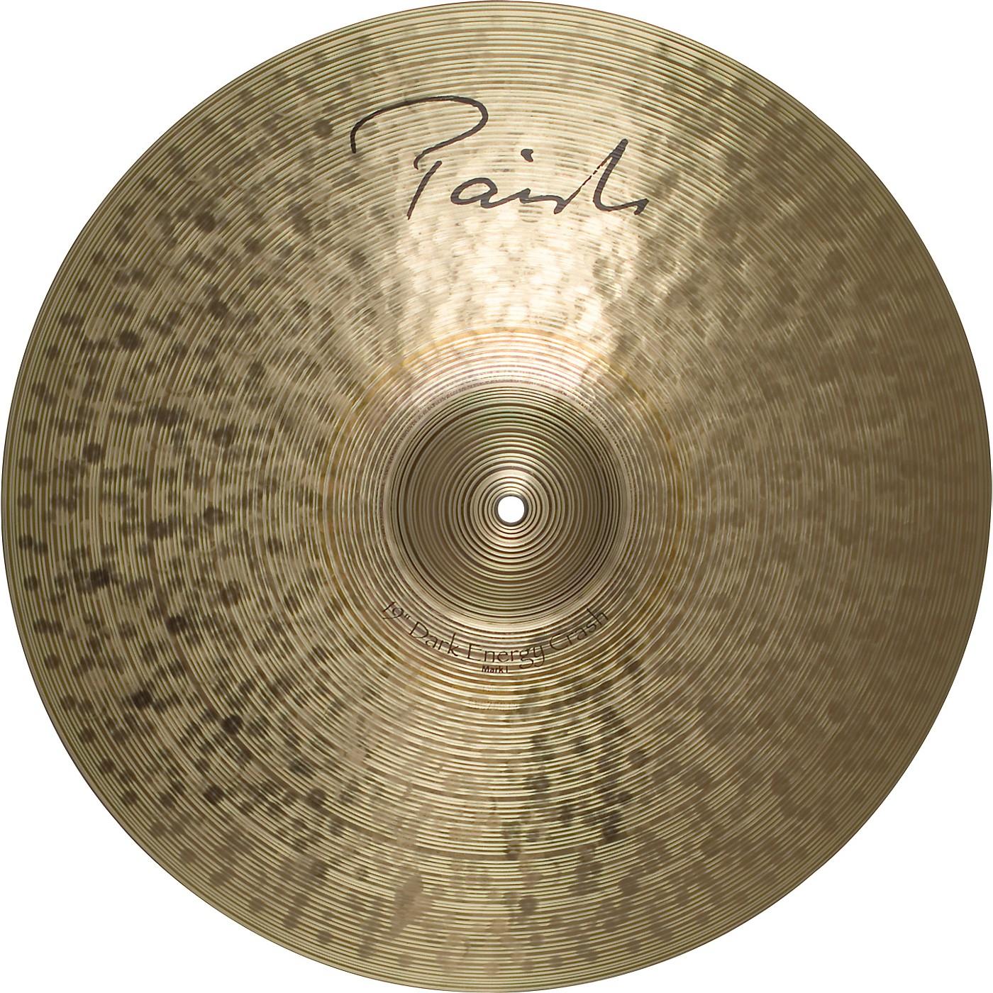 Paiste Signature Series Dark MKI Energy Crash Cymbal thumbnail