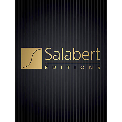 Editions Salabert Signets (Hommage a Maurice Ravel) (Piano Solo) Piano Series Composed by Betsy Jolas thumbnail