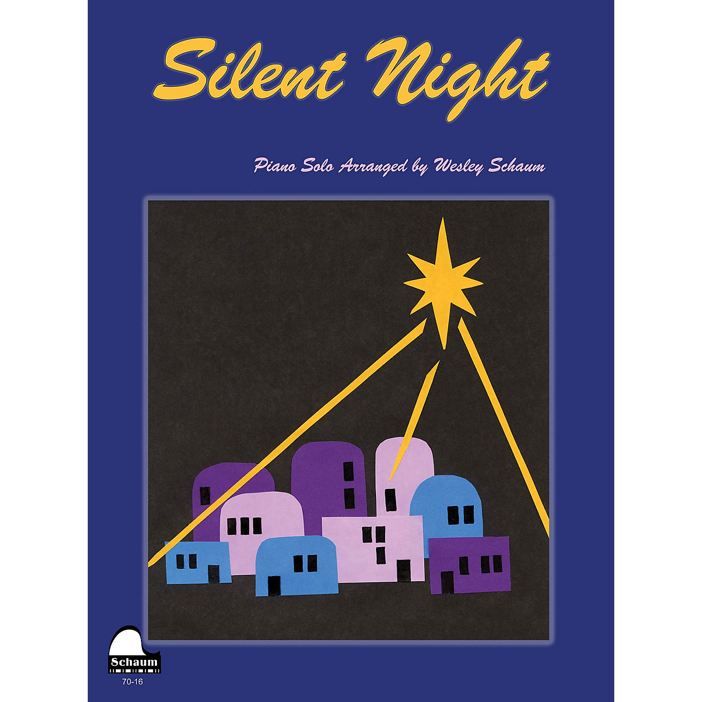SCHAUM Silent Night Educational Piano Series Softcover thumbnail