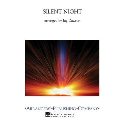 Arrangers Silent Night (Full Score) Concert Band Arranged by Jay Dawson thumbnail