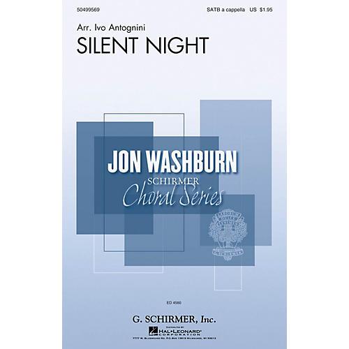 G. Schirmer Silent Night (Jon Washburn Choral Series) SATB Divisi arranged by Ivo Antognini thumbnail