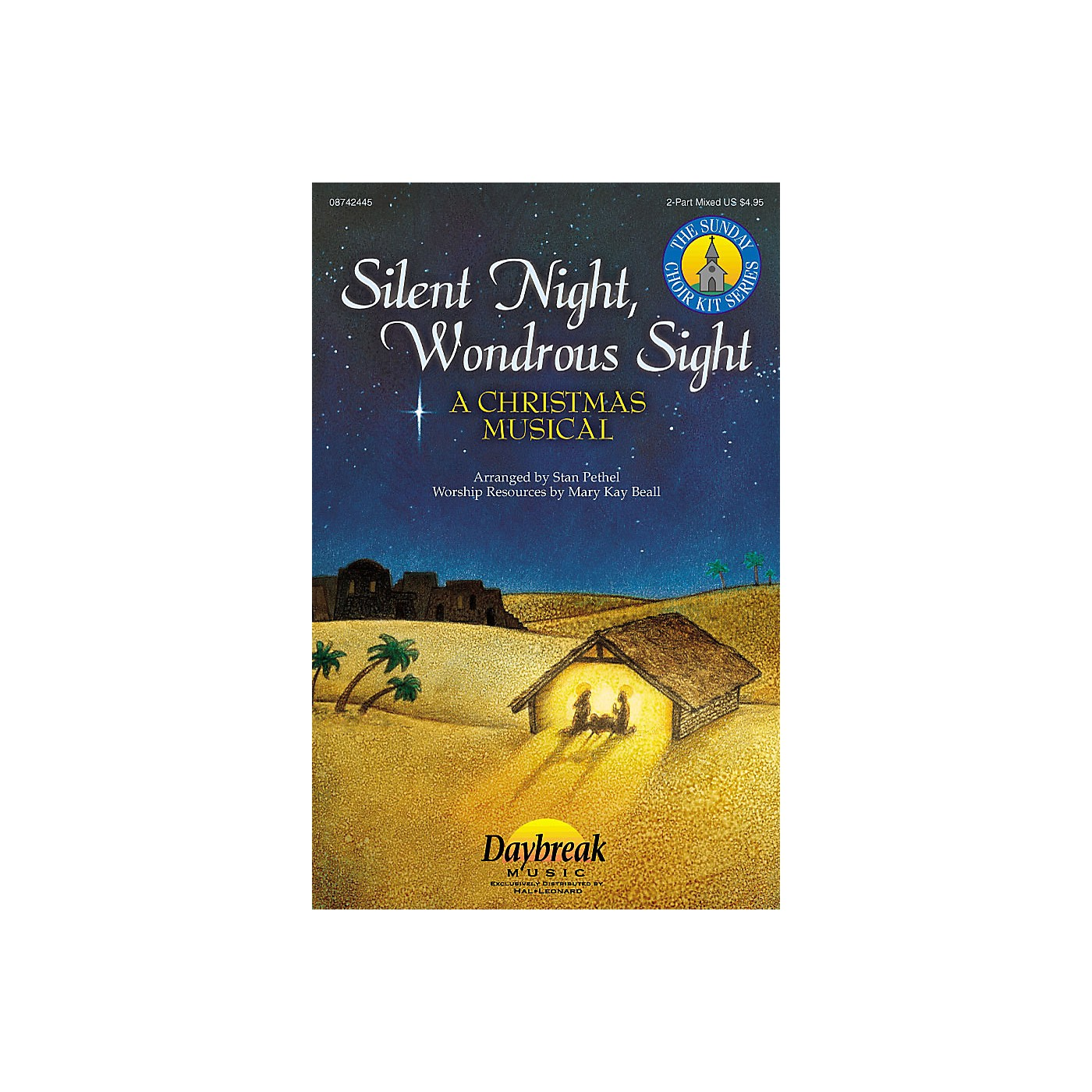 Daybreak Music Silent Night, Wondrous Sight (2-Part Mixed) 2 Part Mixed composed by Stan Pethel thumbnail