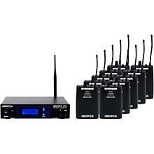 VocoPro SilentPA-SEMINAR10 16CH UHF Wireless Audio Broadcast System (Stationary Transmitter with ten bodypack receivers)