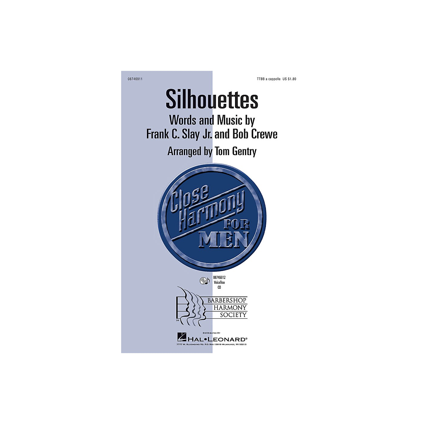 Hal Leonard Silhouettes TTBB A Cappella arranged by Tom Gentry thumbnail