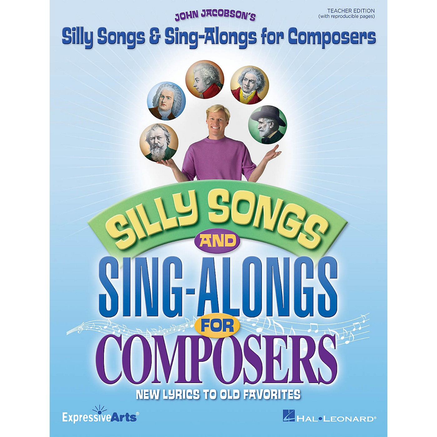 Hal Leonard Silly Songs & Sing-Alongs for Composers (New Lyrics to Old Favorites) CLASSRM KIT by John Jacobson thumbnail