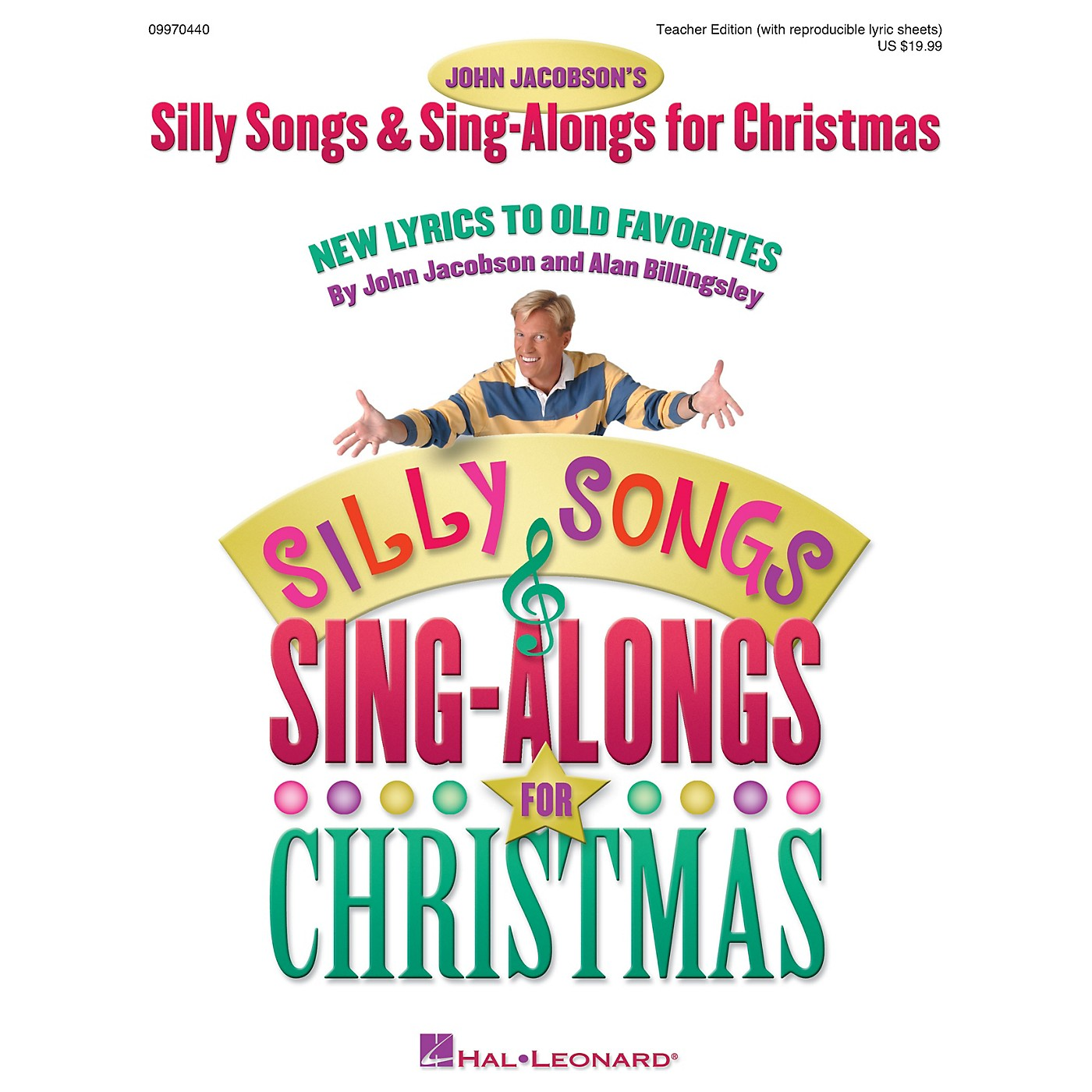 Hal Leonard Silly Songs and Sing-Alongs for Christmas (Collection) TEACHER ED Composed by John Jacobson thumbnail