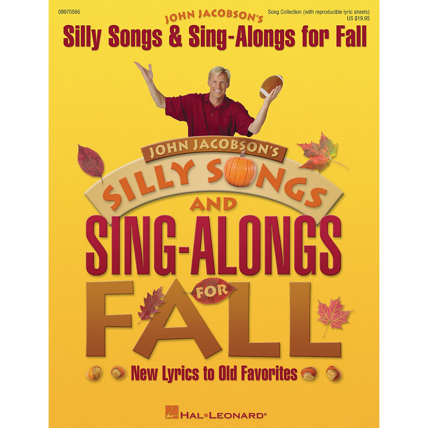 Hal Leonard Silly Songs and Sing-Alongs for Fall (Collection) COLLECTION Composed by John Jacobson thumbnail