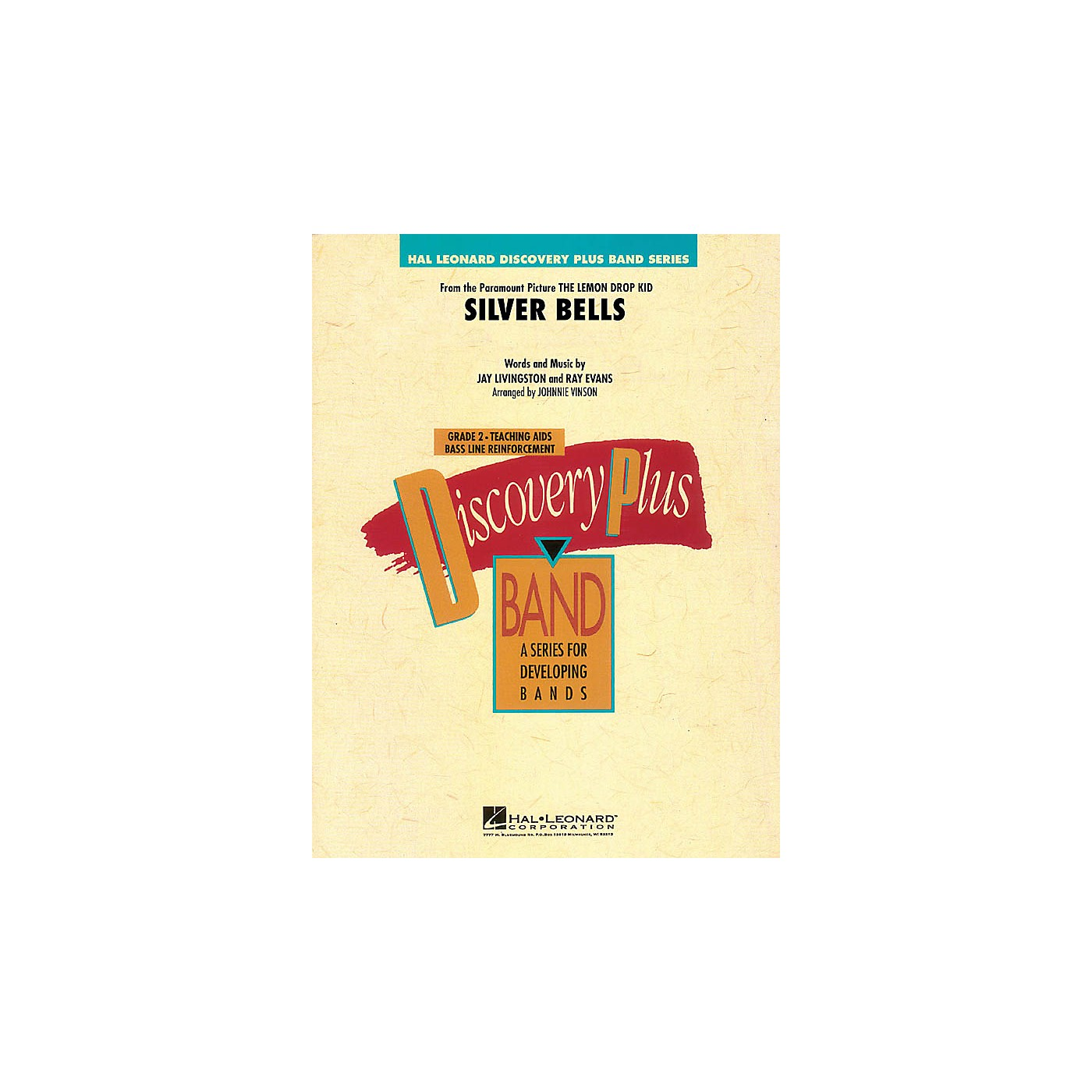 Hal Leonard Silver Bells - Discovery Plus Band Level 2 arranged by Johnnie Vinson thumbnail