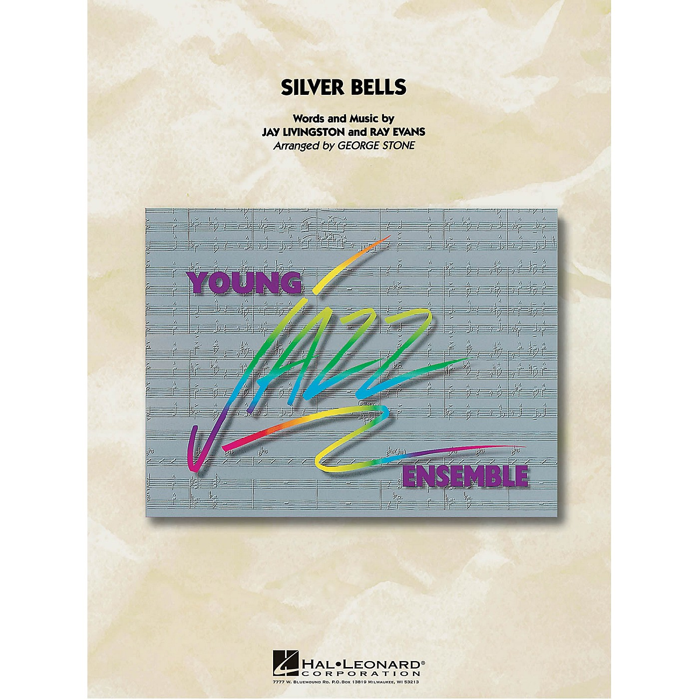 Hal Leonard Silver Bells Jazz Band Level 3 Arranged by George Stone thumbnail