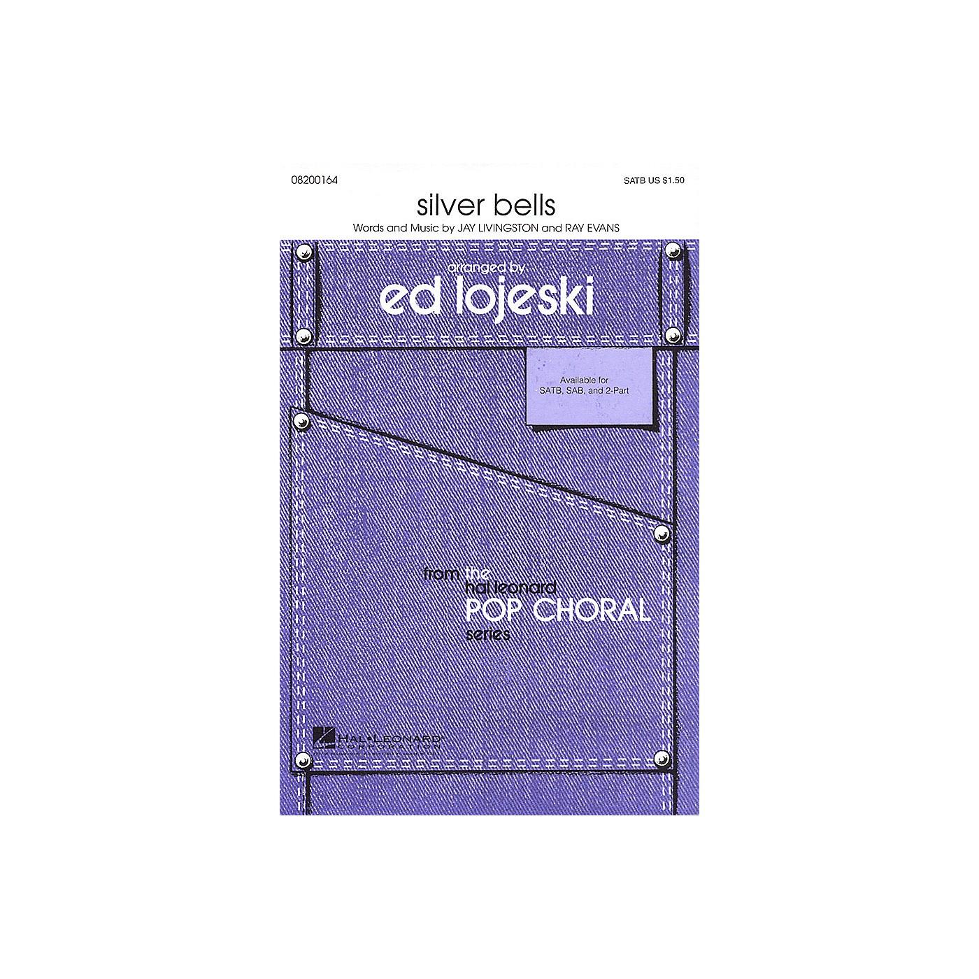 Hal Leonard Silver Bells SAB Arranged by Ed Lojeski thumbnail