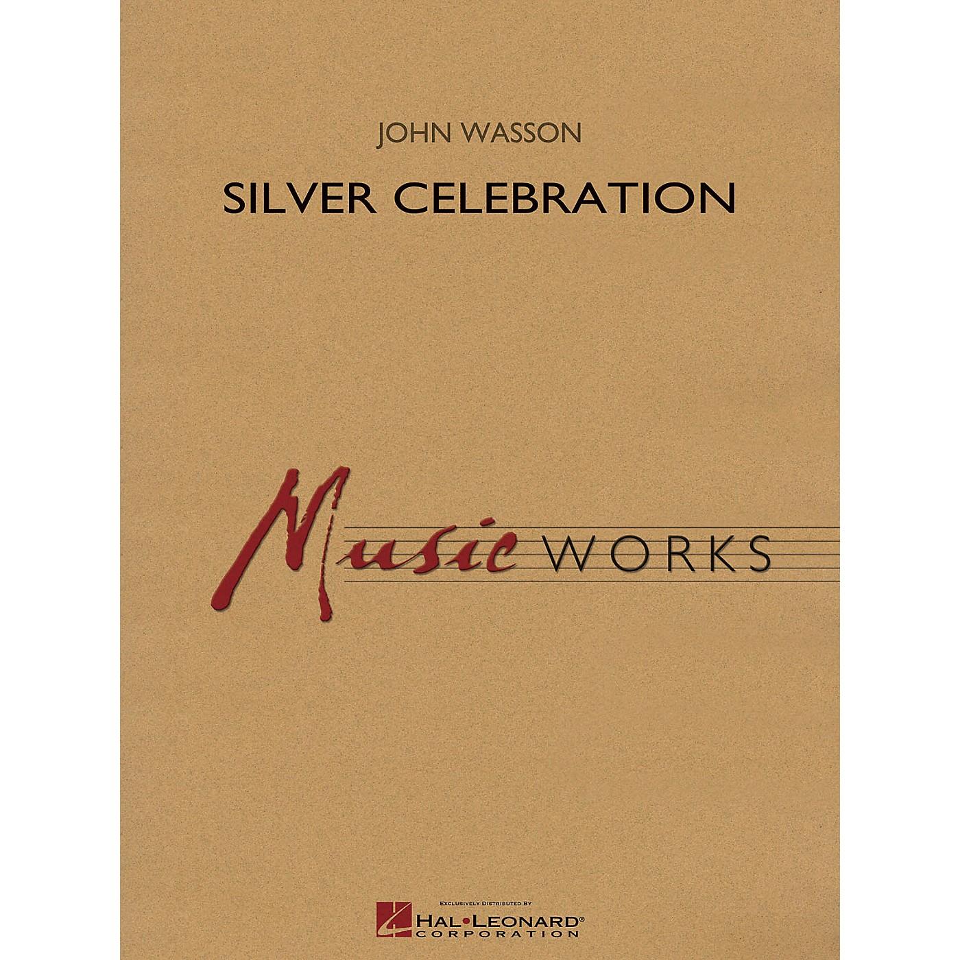 Hal Leonard Silver Celebration Concert Band Level 4 Composed by John Wasson thumbnail