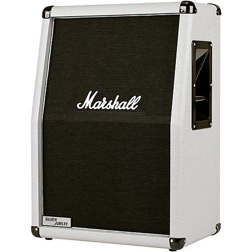 Marshall Silver Jubilee 140W 2x12 Vertical Slant Extension Guitar Speaker Cabinet thumbnail