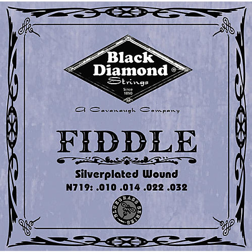 Black Diamond Silver-Plated Fiddle Strings thumbnail