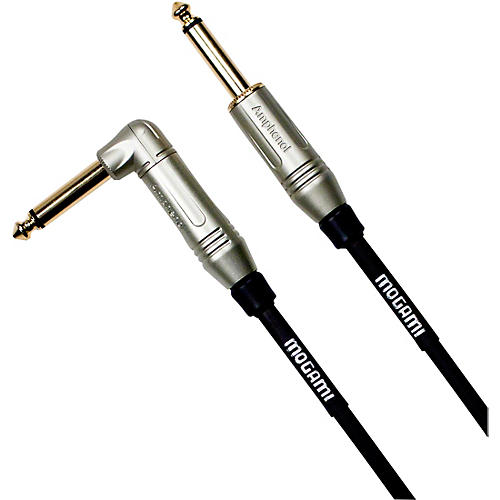 Mogami Silver Series Guitar Cable Straight to Right Angle thumbnail