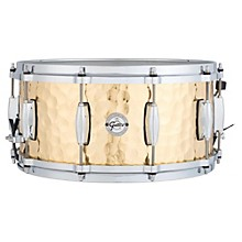 Gretsch Drums Silver Series Hammered Brass Snare Drum