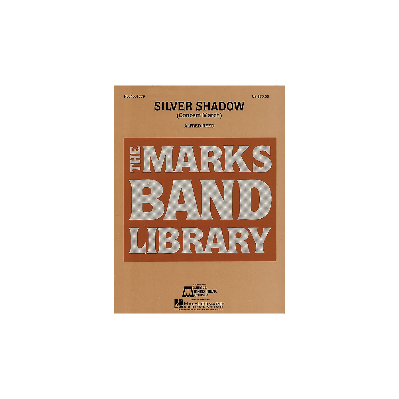 Hal Leonard Silver Shadow (Concert March) Concert Band Level 4-5 Composed by Alfred Reed thumbnail
