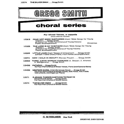G. Schirmer Silver Swan A Cappella SATB composed by Gregg Smith thumbnail