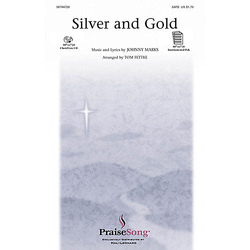 Hal Leonard Silver and Gold SATB arranged by Tom Fettke thumbnail