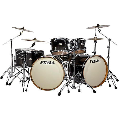 Tama Silverstar Double Bass Drum 7-Piece Shell Pack with Double Tom Stand thumbnail