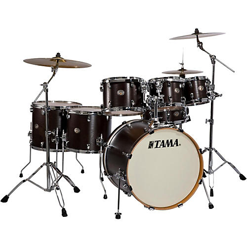 Tama Silverstar Tamo Ash Limited Edition 6-Piece Shell Pack with free 8