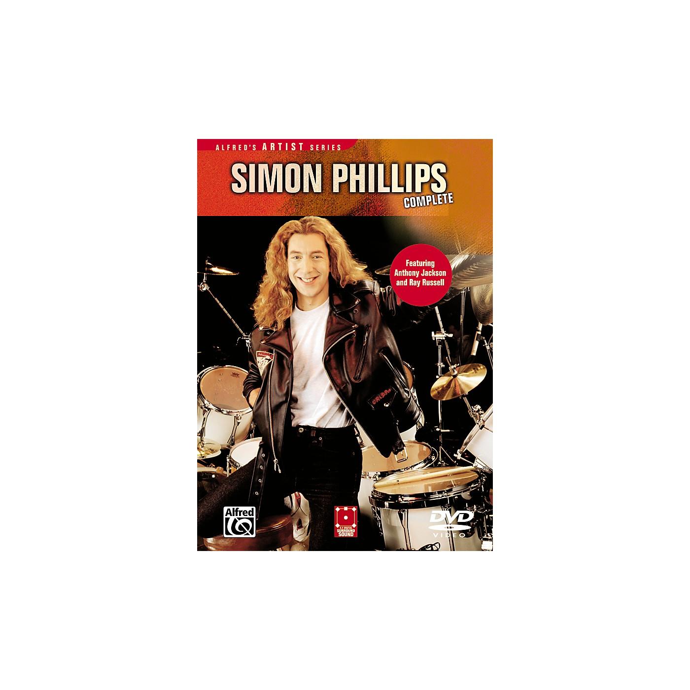 Alfred Simon Phillips Complete DVD thumbnail