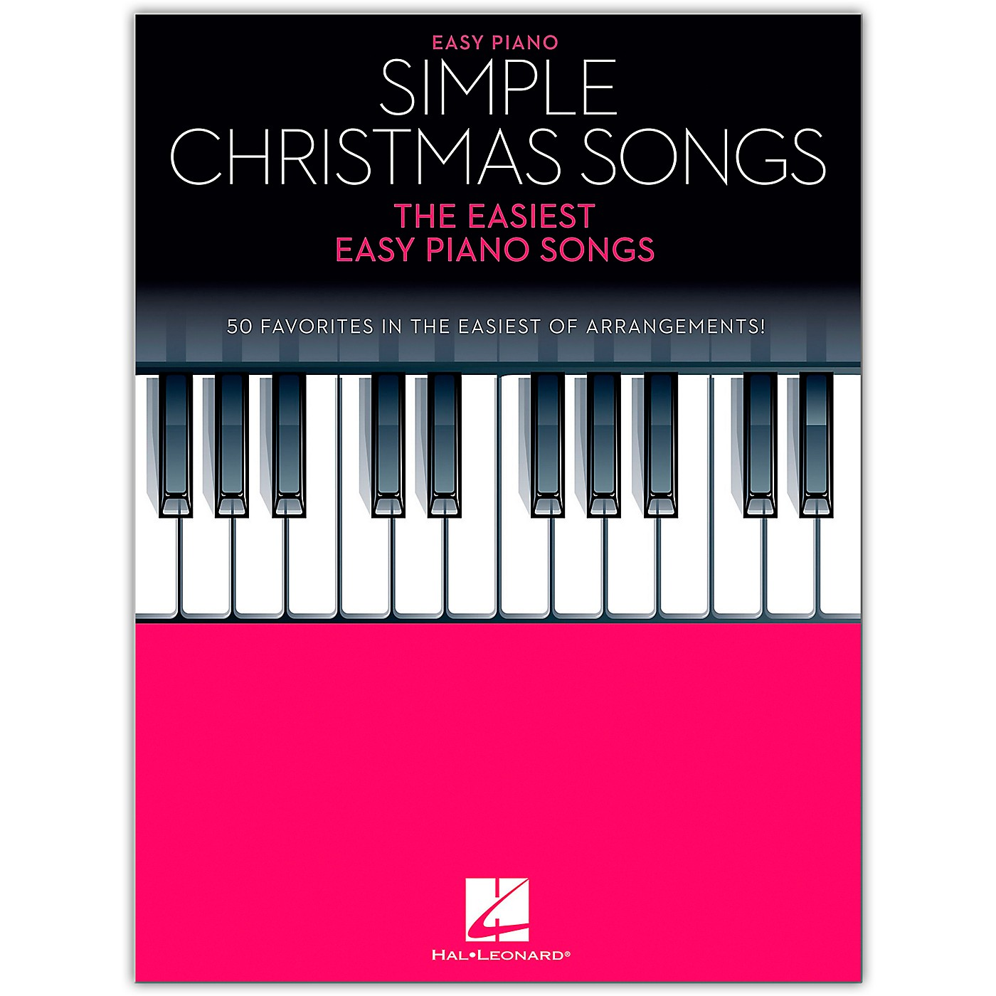 Hal Leonard Simple Christmas Songss - The Easiest Easy Piano Songs thumbnail