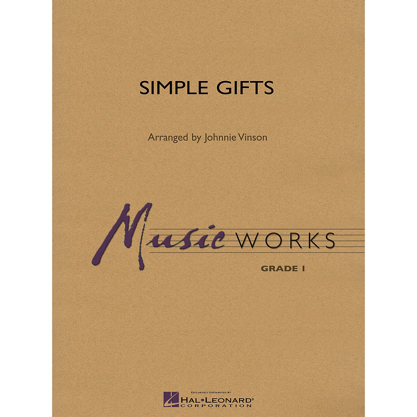 Hal Leonard Simple Gifts Concert Band Level 1.5 Arranged by Johnnie Vinson thumbnail