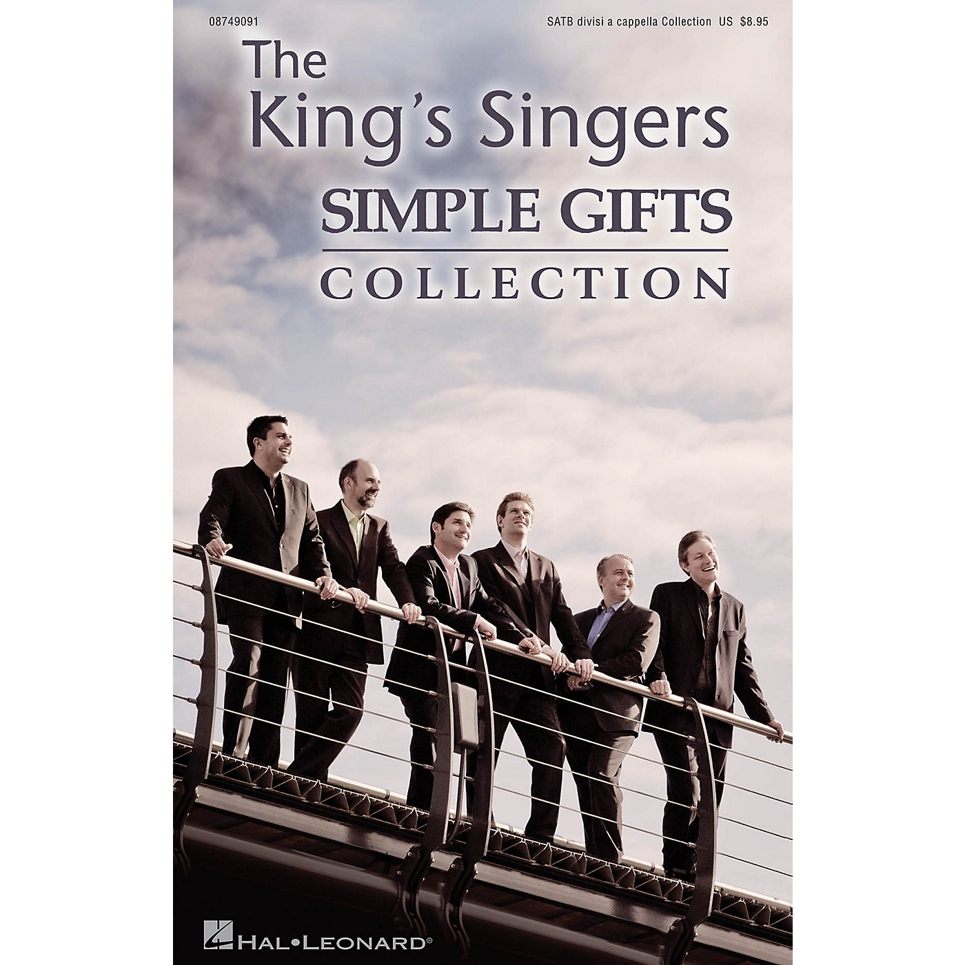 Hal Leonard Simple Gifts (Simple Gifts) SATB DV A Cappella by The King's Singers arranged by Philip Lawson thumbnail