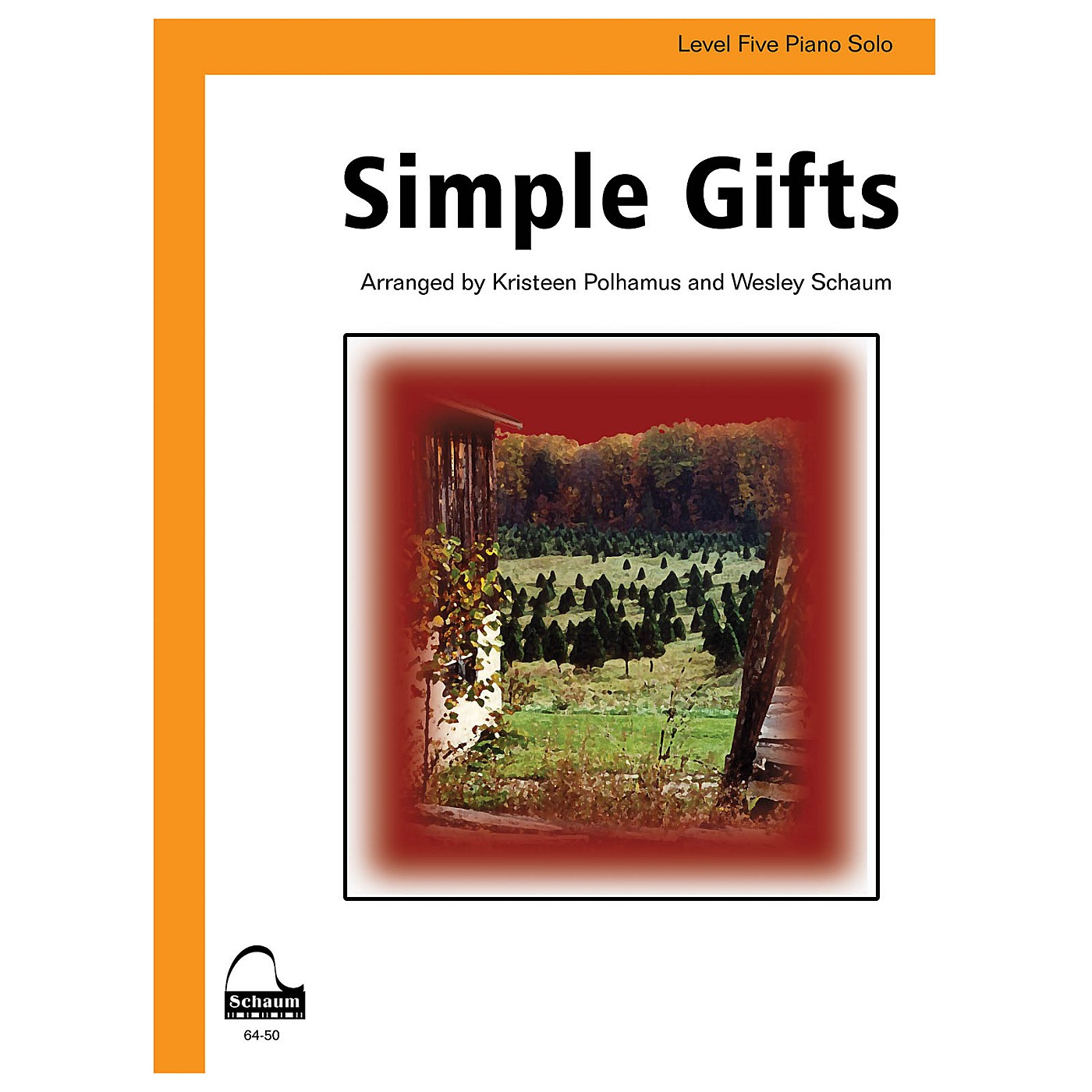 SCHAUM Simple Gifts (amer. Shaker Tune) Educational Piano Series Softcover thumbnail