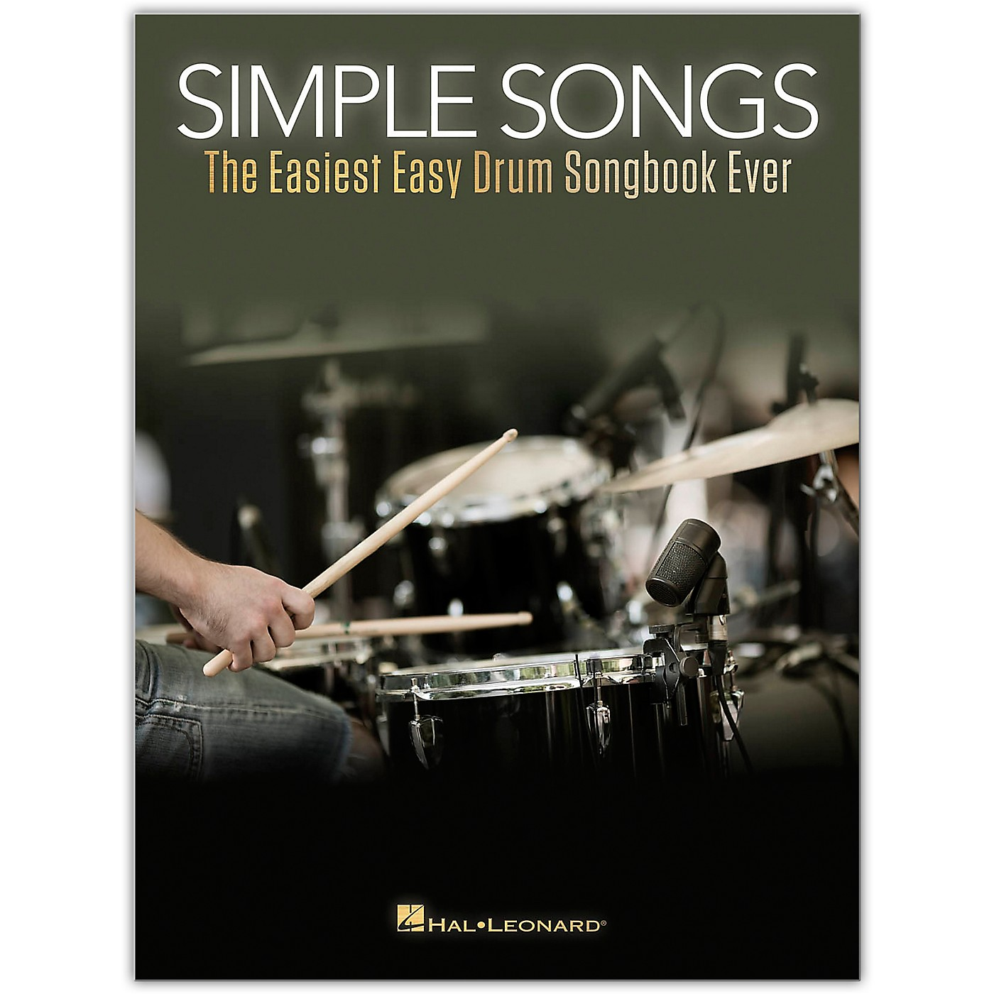Hal Leonard Simple Songs - The Easiest Easy Drum Songbook Ever thumbnail