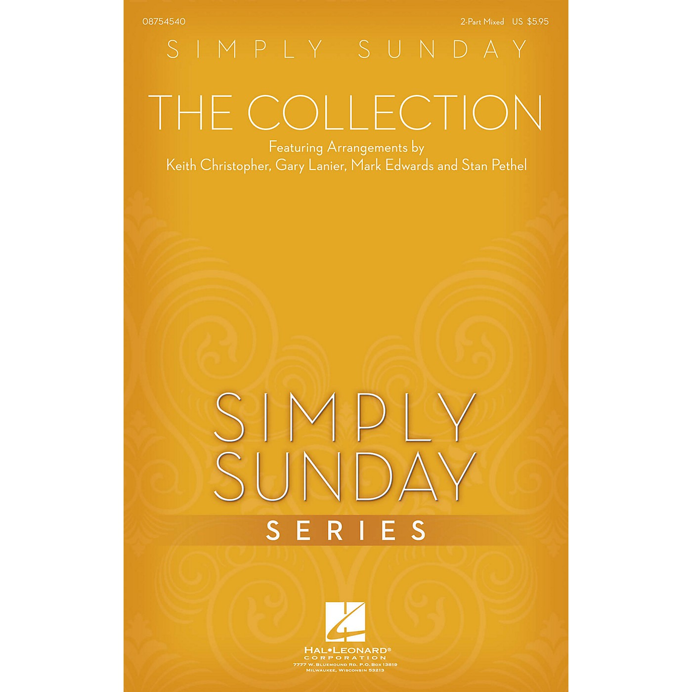 Hal Leonard Simply Sunday - The Collection 2 Part Mixed arranged by Keith Christopher thumbnail