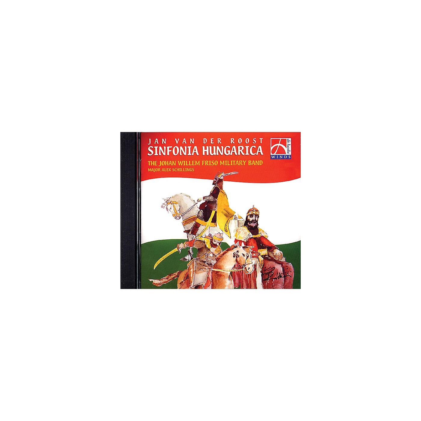 De Haske Music Sinfonia Hungarica CD (De Haske Sampler CD) Concert Band Composed by Various thumbnail