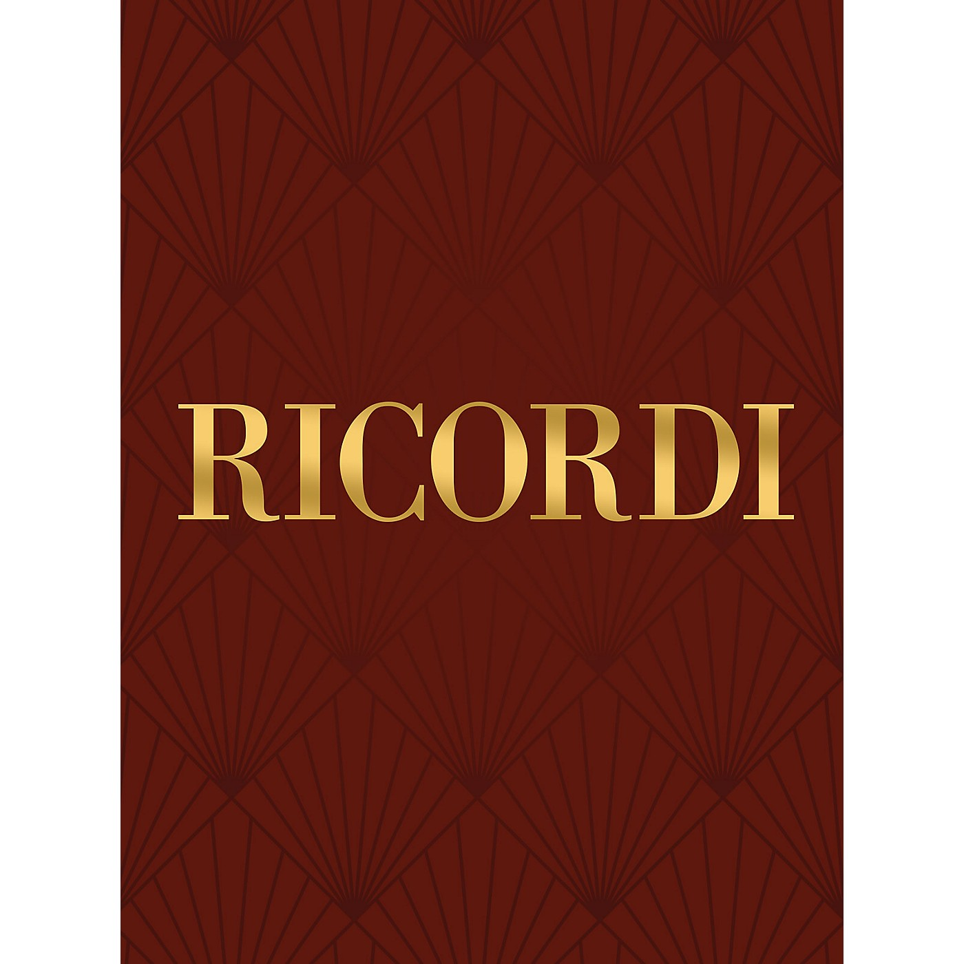 Ricordi Sinfonia in G Maj for Strings and Basso Continuo RV147 Study Score by Vivaldi Edited by Manfred Fechner thumbnail