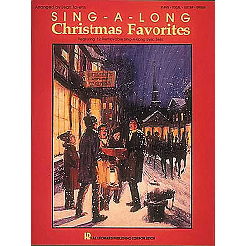 Hal Leonard Sing-A-Long Christmas Favorites Piano, Vocal, Guitar Songbook-thumbnail