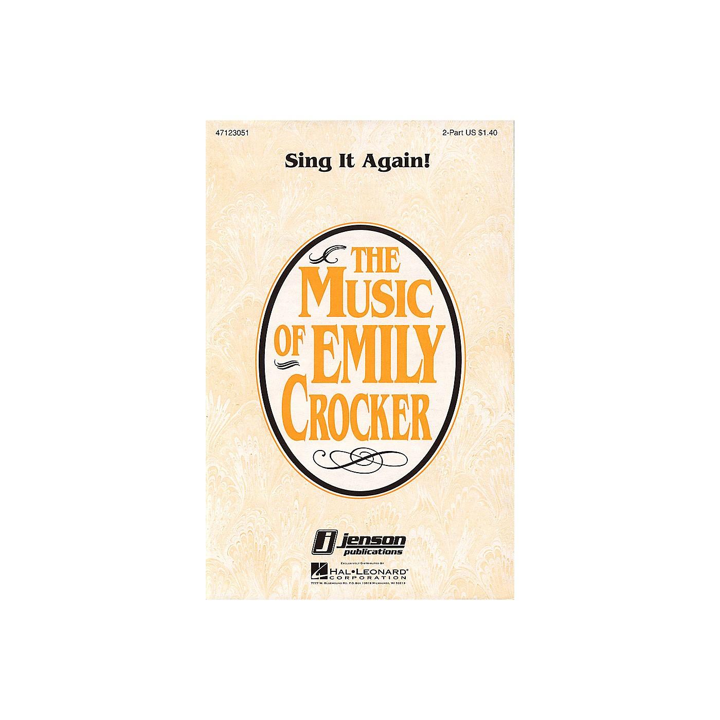 Hal Leonard Sing It Again! 2-Part composed by Emily Crocker thumbnail