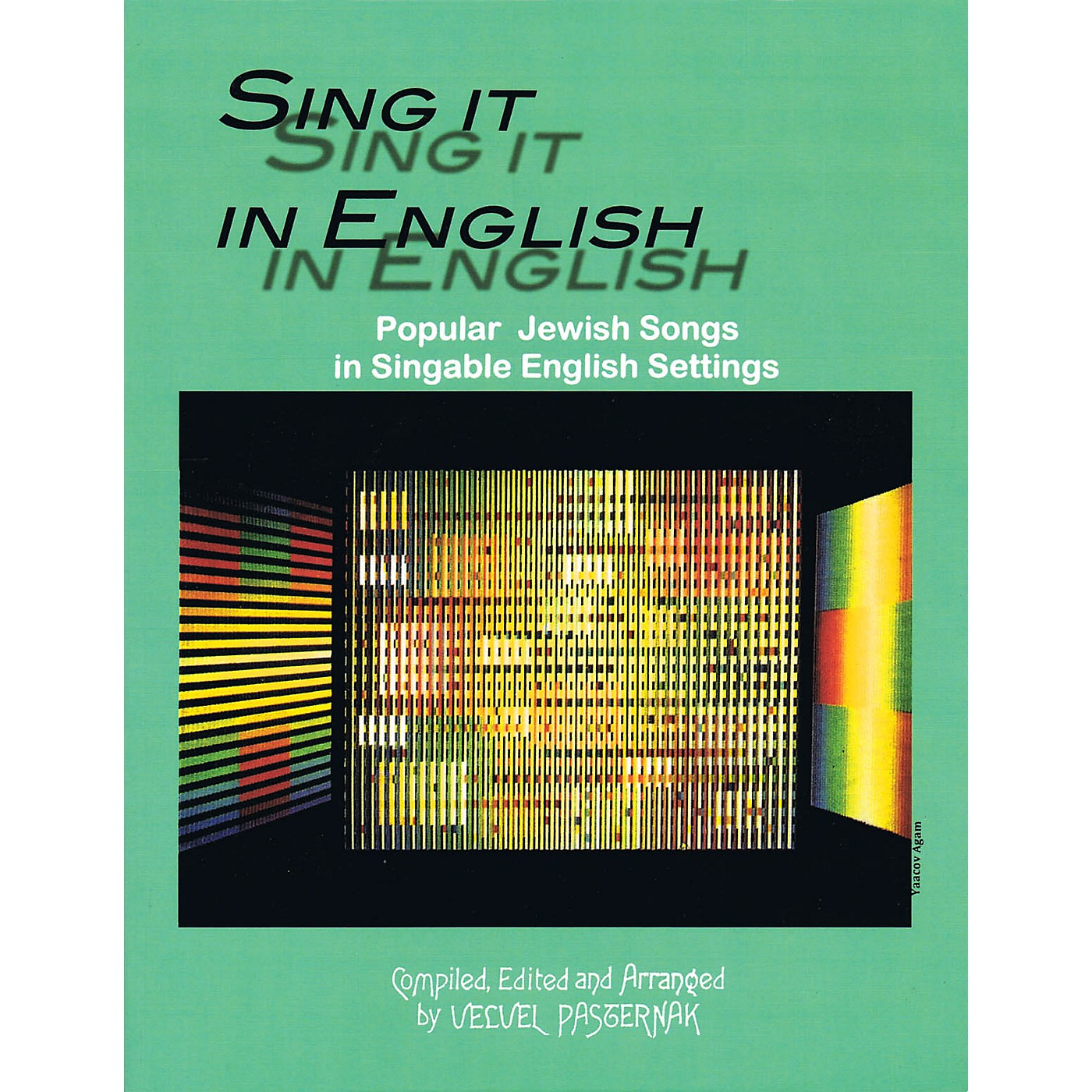 Tara Publications Sing It in English (54 Popular Jewish Songs in Singable English Settings) Tara Books Series Softcover thumbnail