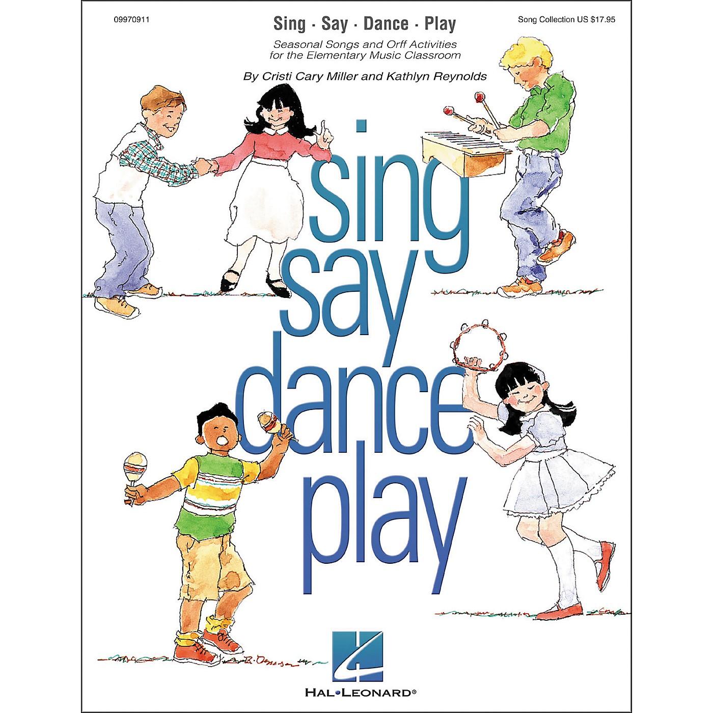 Hal Leonard Sing Say Dance Play thumbnail
