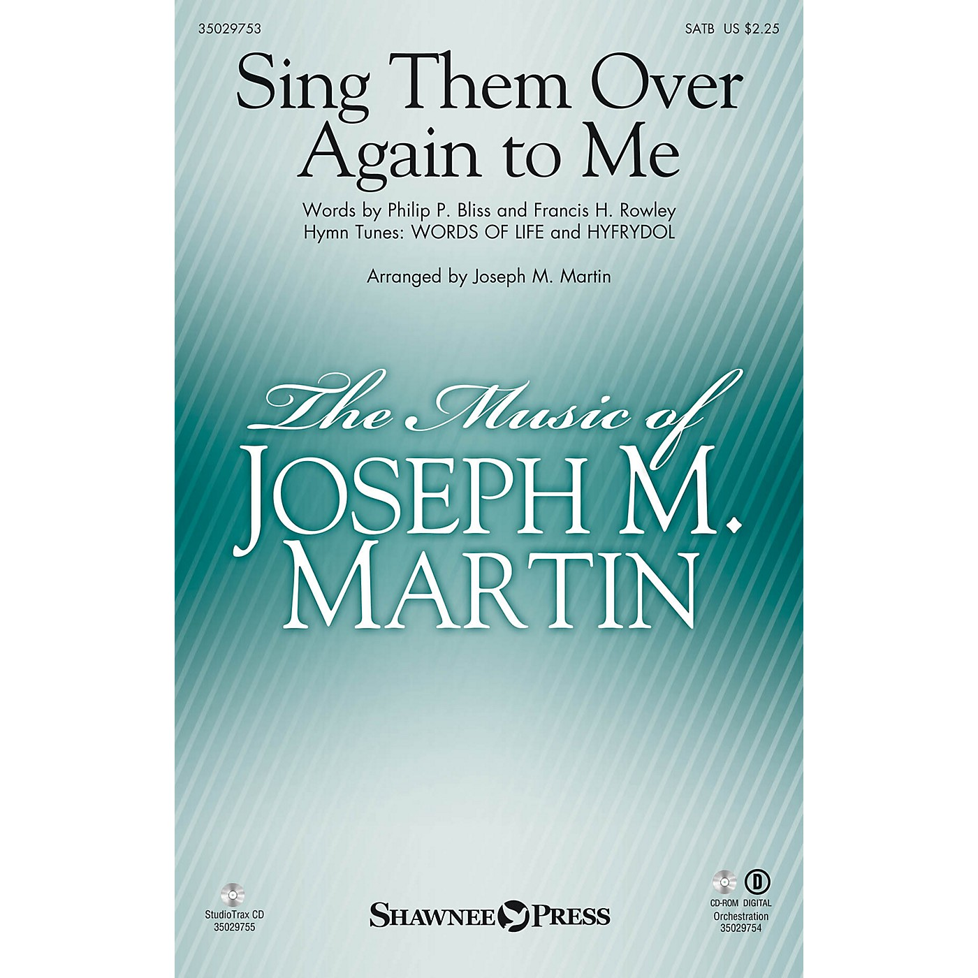Shawnee Press Sing Them Over Again to Me ORCHESTRA ACCOMPANIMENT Arranged by Joseph M. Martin thumbnail