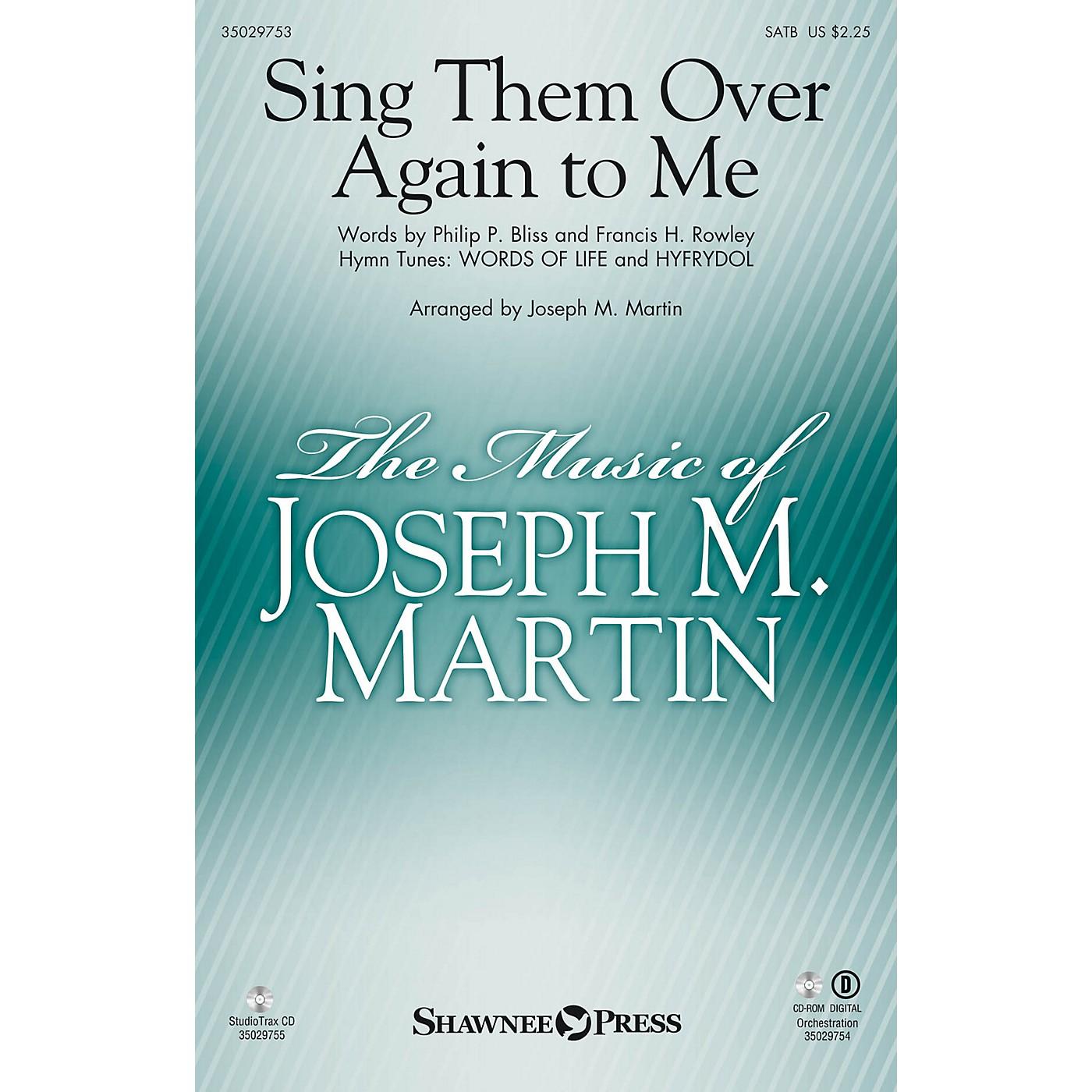 Shawnee Press Sing Them Over Again to Me Studiotrax CD Arranged by Joseph M. Martin thumbnail