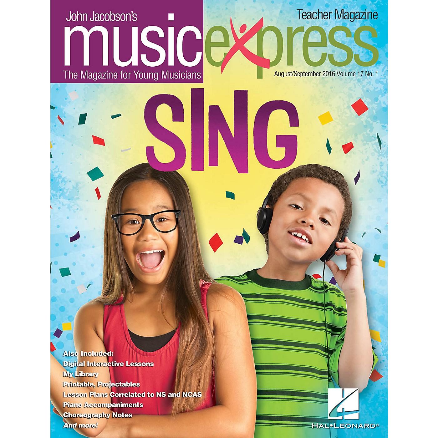 Hal Leonard Sing! Vol. 17 No. 1 (August/September 2016) PREMIUM PAK by Pentatonix Arranged by Emily Crocker thumbnail