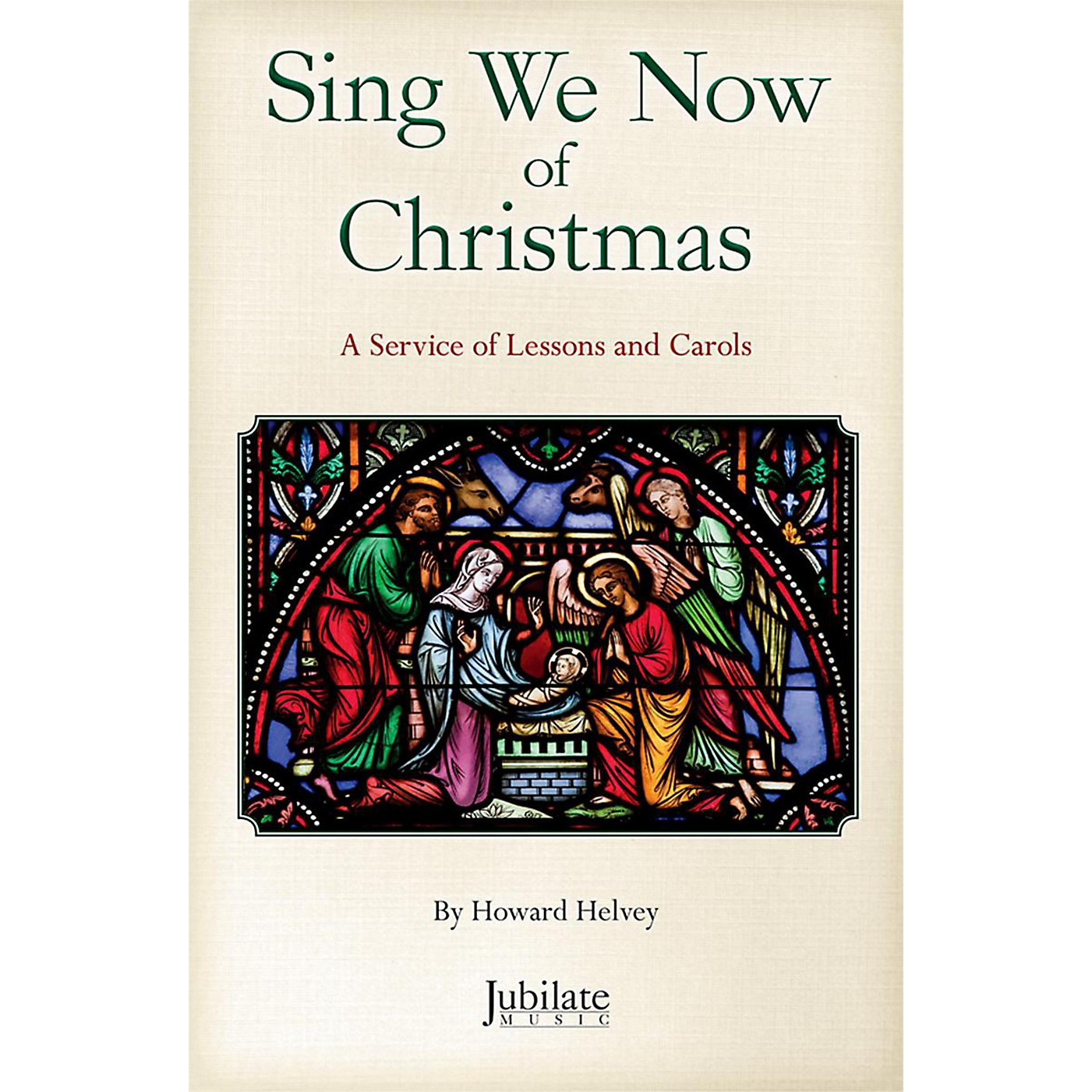 JUBILATE Sing We Now of Christmas InstruTrax CD thumbnail