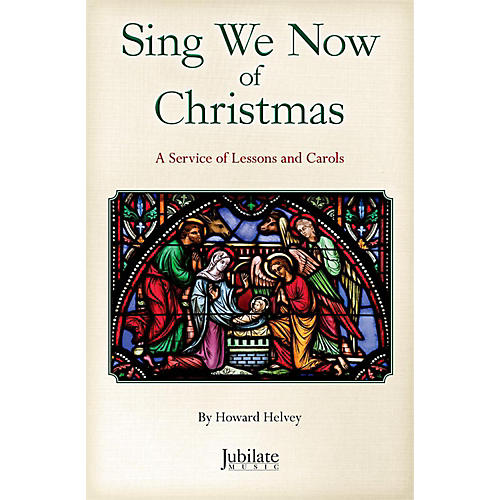 JUBILATE Sing We Now of Christmas SATB Choral Book thumbnail