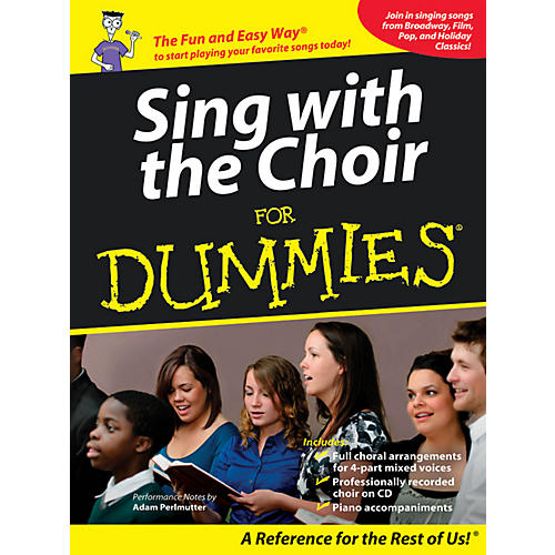 Hal Leonard Sing With The Choir For Dummies - Book/CD Pack thumbnail