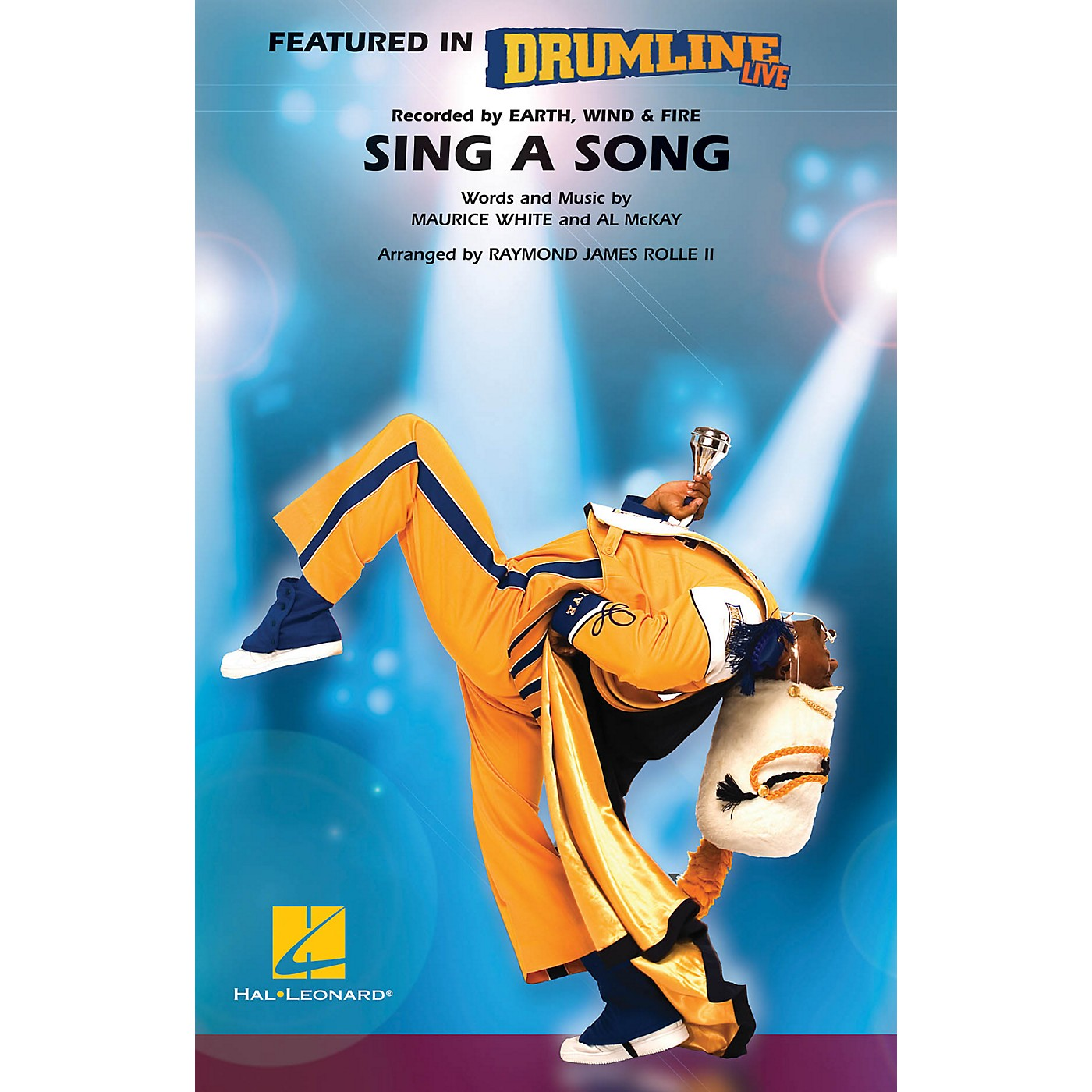 Hal Leonard Sing a Song (Drumline Live) Marching Band Level 4-5 Arranged by Raymond James Rolle II thumbnail