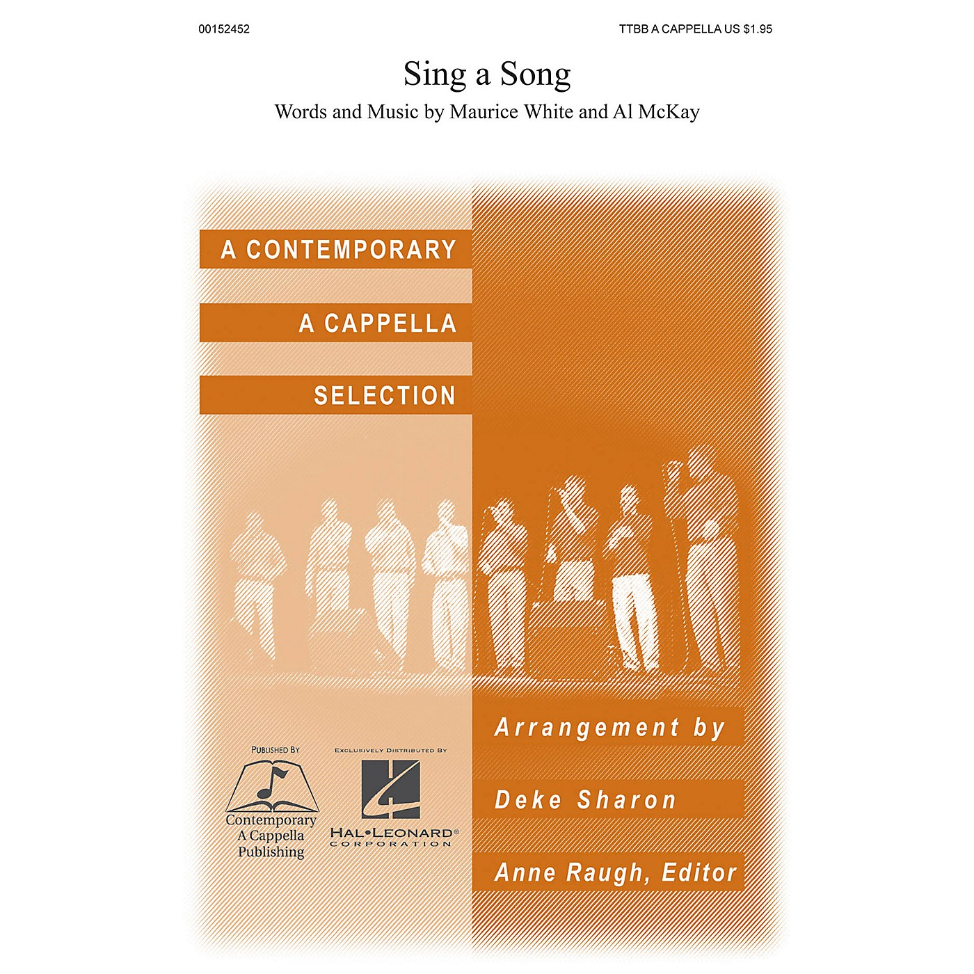 Contemporary A Cappella Publishing Sing a Song TTBB A Cappella by Earth, Wind & Fire arranged by Deke Sharon thumbnail
