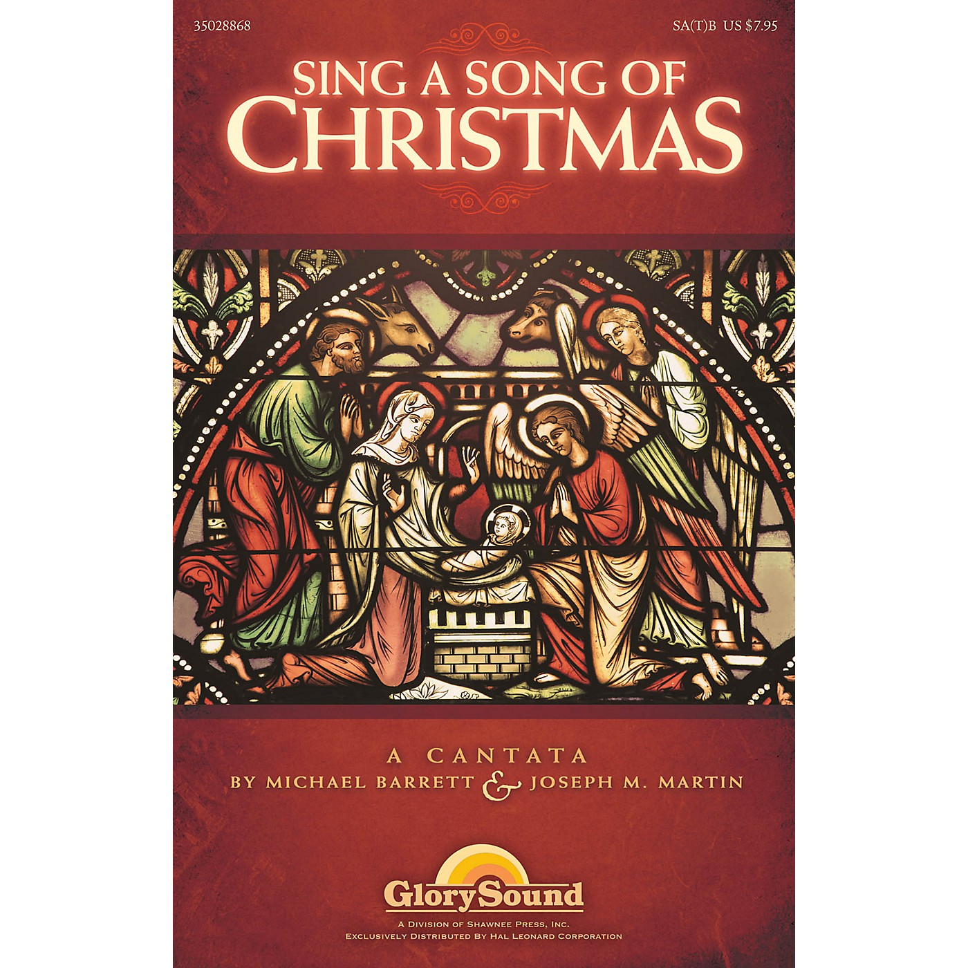 Shawnee Press Sing a Song of Christmas 10 LISTENING CDS Composed by Michael Barrett thumbnail