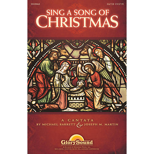 Shawnee Press Sing a Song of Christmas Listening CD Composed by Michael Barrett thumbnail