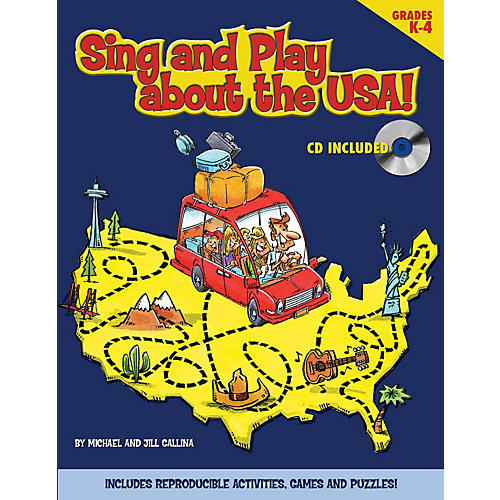 Shawnee Press Sing and Play About the USA! REPRO PAK thumbnail