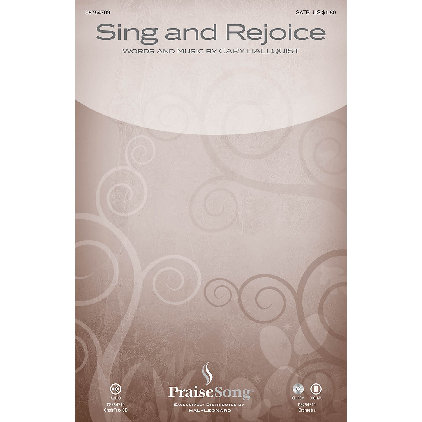 PraiseSong Sing and Rejoice ORCHESTRA ACCOMPANIMENT Composed by Gary Hallquist thumbnail