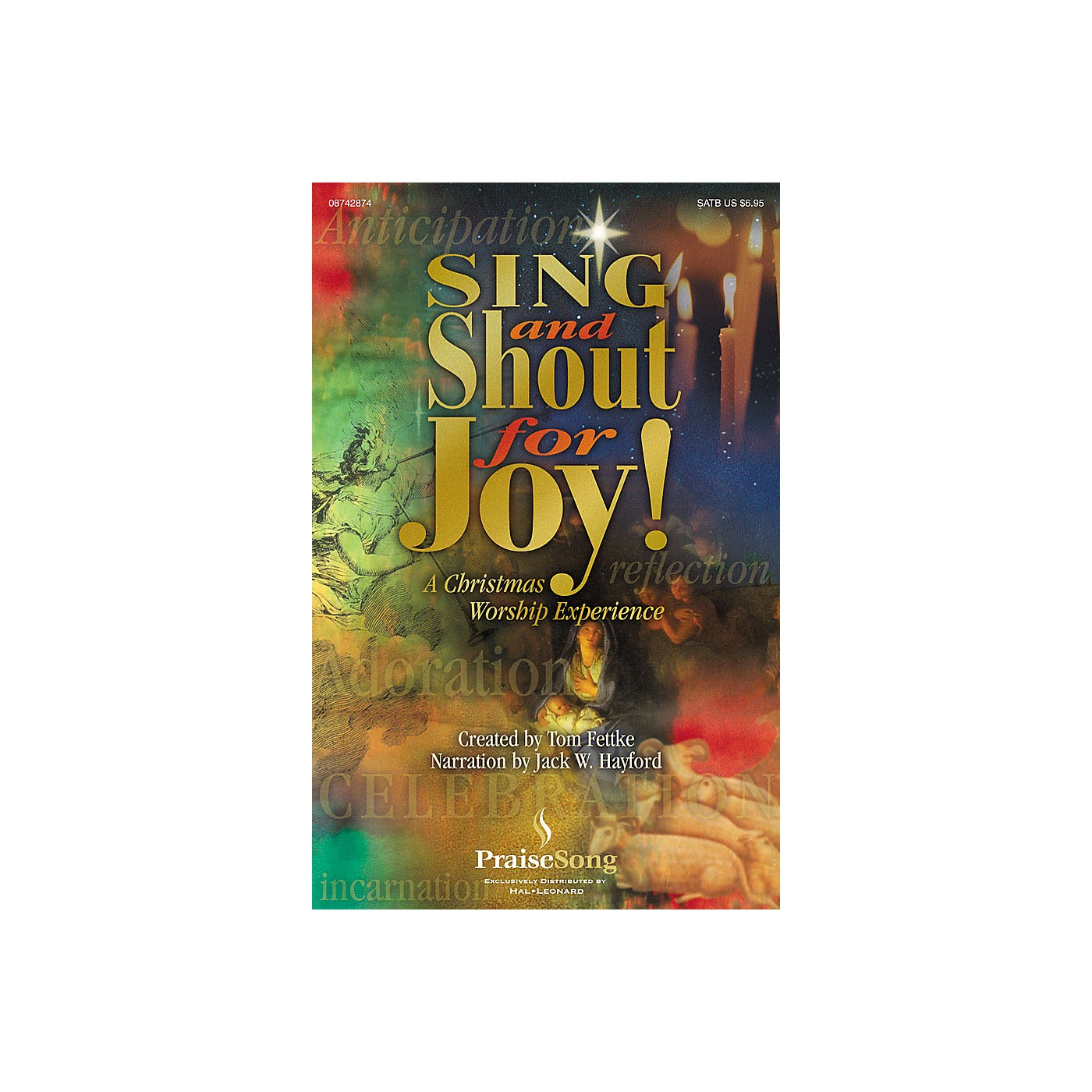 PraiseSong Sing and Shout for Joy! (A Christmas Worship Experience) SATB arranged by Tom Fettke thumbnail